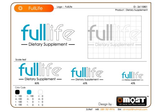 FullLife Logo Design